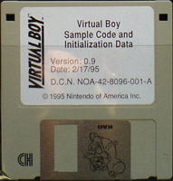 Virtual Boy Sample Code and Initialization Data (2-17-95) (U)