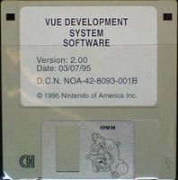 VUE Development System Software (03-07-95) (U)